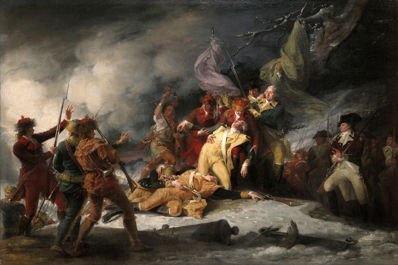 This image has an empty alt attribute; its file name is DeathGeneral-Montgomery-the-Attack-on-Quebec-inAmerican-Revolution.jpg